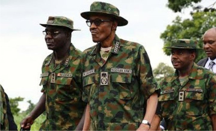 Buhari-in-army-uniform